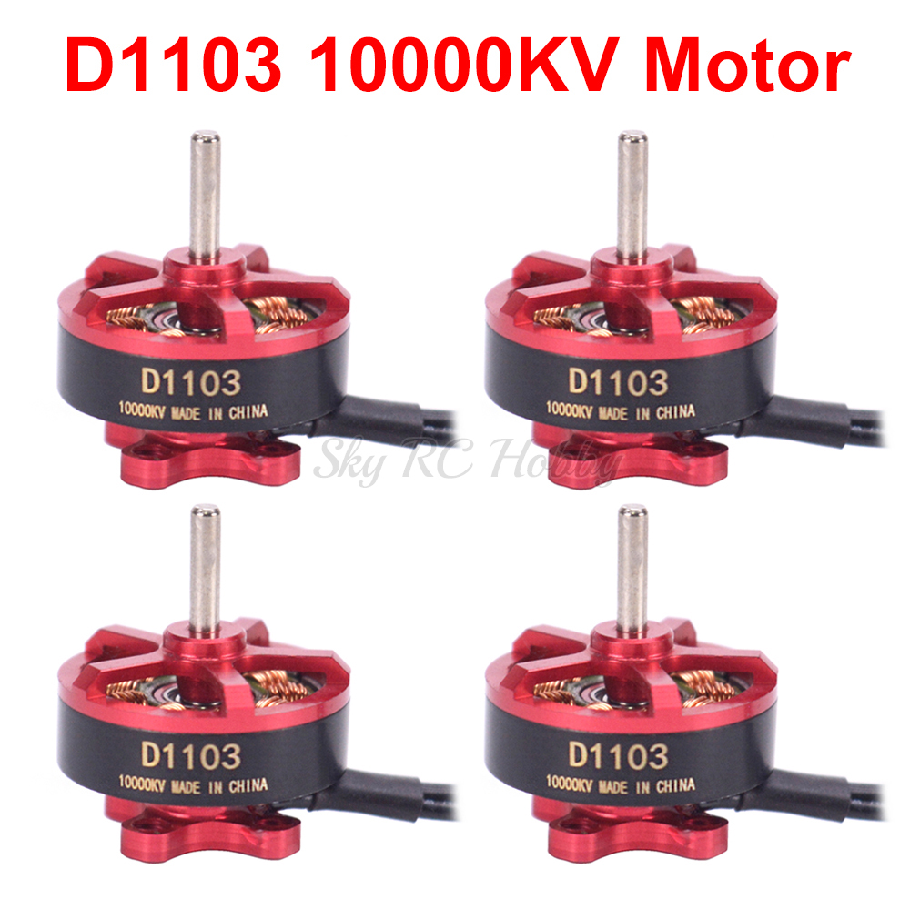 Mini D1103 1103 10000kv Brushless Motor 2S for RC 80 90 100 120 mm Mini FPV Racing Drone Quadcopter