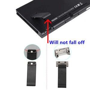 Image 1 - Zurück Ständer Shell Unterstützung Halterung Stand Fall Stehen Halter Ersatz für Nintend Schalter NS NX Konsole Reparatur mit Schraube