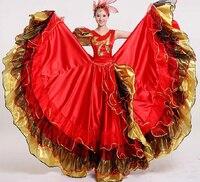 Women Flamenco Dance Dress Adult Paso Doble Dance Dress Flamenco Costume Girl Flamenco Dancing Dresses
