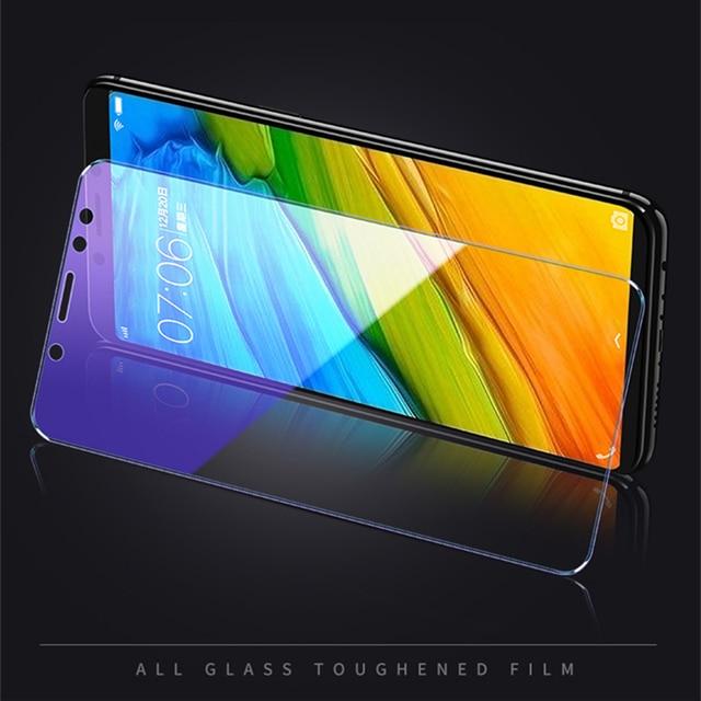 2Pcs/lot Full Tempered Glass For Xiaomi Redmi Note 5 Pro 6 Screen Protector Anti Blu-ray Protector Film For Redmi 5 Plus glass 5
