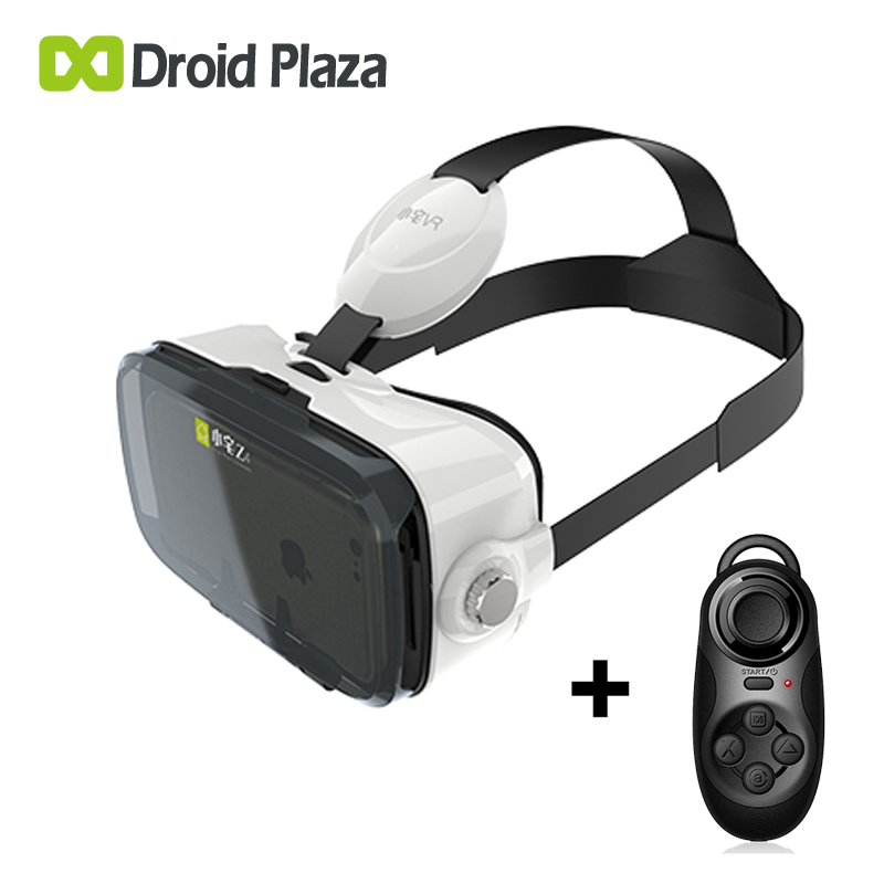 "BOBOVR Z4 Mini 3D VR Glasses Virtual Reality Headset Xiaozhai VR Box Cardboard VR for 4.7~6"" Smartphone + Bluetooth Gamepad"