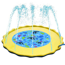 Childrens Inflatable Water Playing Mat Sprinkle Splash Play Mattresses Swimming pool toy accessories Kids Spray