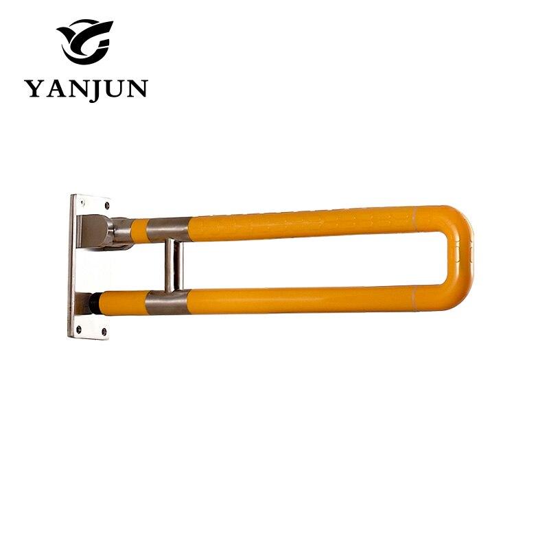 Yanjun Folding Grab Bar Bathroom Safety Railing  Toilet Support Handicap Holder Handle  Aid  Anti Slip High Quality YJ-2026