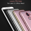 Luxury Rose Gold Plating Crystal Transparent Soft TPU Case for LeEco Le 2 X520 X620/2 Pro/Le Max 2 1S Silicone Back Cover Cases
