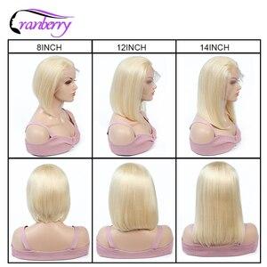Image 5 - 레미 브라질 스트레이트 숏 밥 가발 컬러 밥 가발 레이스 프론트 인간의 머리 가발 여성을위한 Glueless Pre Plucked Natural Hairline