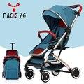 Детская коляска 2 в 1, детская коляска, легкая складная детская коляска, может сидеть, может лежать, путешествующая коляска, детская коляска