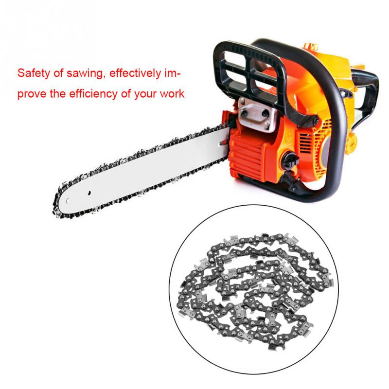 16 Inch Metal 325 Chainsaw Saw Chain Saws Spare Parts Replacement Fit for Chainsaw Parts Garden Tools