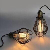 Black Cable Unique American Style Edison Pendant Light Pendant Lamp