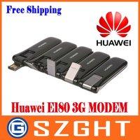 Módem Huawei E180 desbloqueado usado PK E182e/E1820 HSUPA/HSDPA módem 7 2/5 76 Mbps 3G|huawei e180|unlocked modem|3g modem -