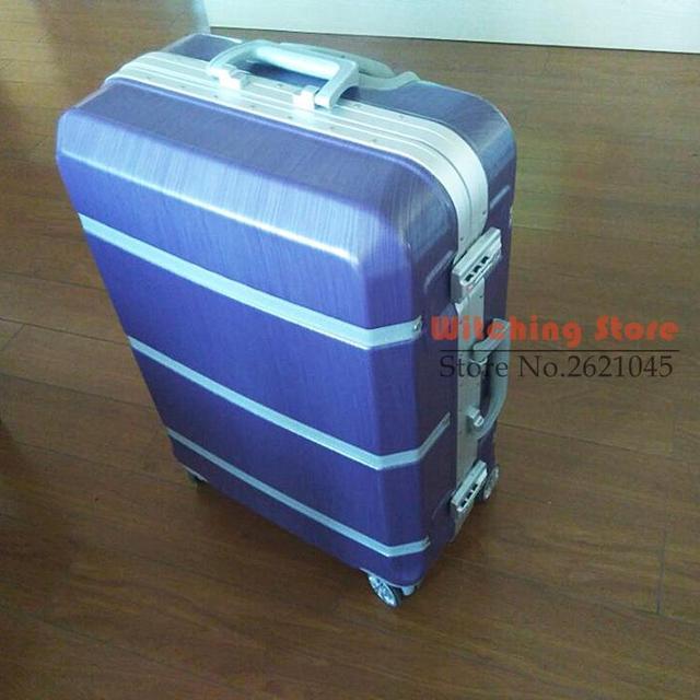 29 INCH29 20242629 # con marco de aluminio de dibujo retro 20 24 maleta cuadro de contraseña # CE ENVÍO GRATIS