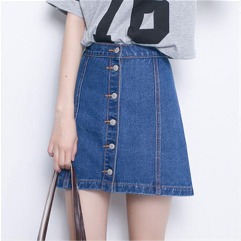 Popular Denim Skirts Sale-Buy Cheap Denim Skirts Sale lots from ...