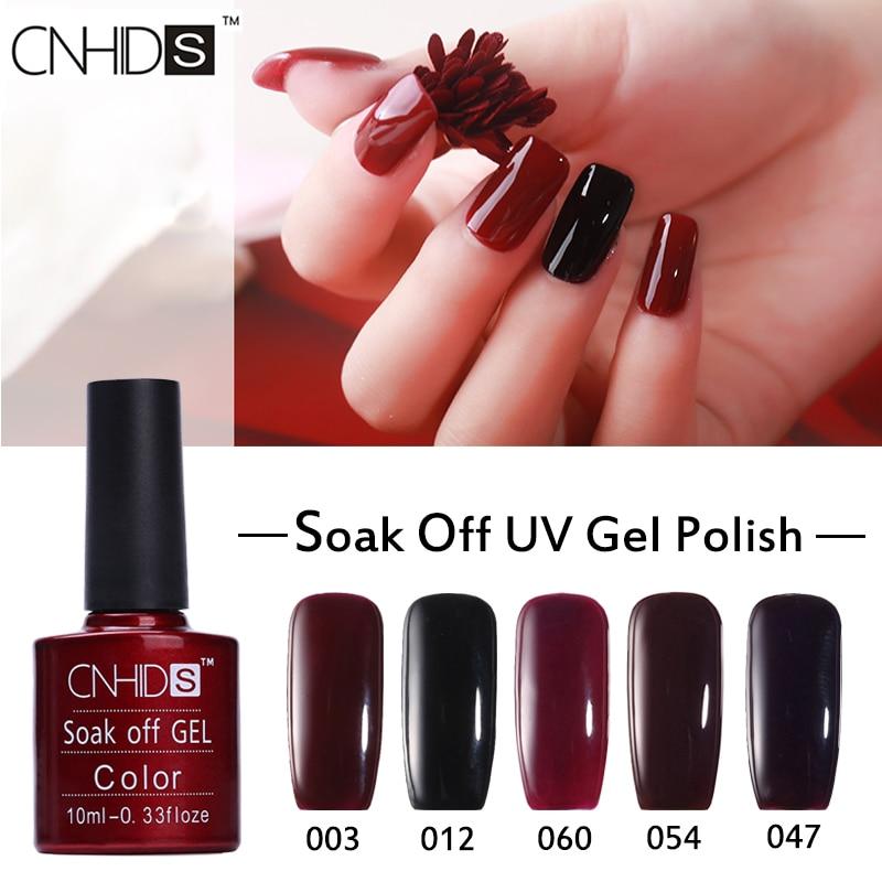 CNHIDS 132 Colors Soak Off UV Gel Nail Polish Professional Long ...