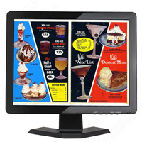 Touch Screen Monitor 17 Inch 1280 1024 Portable Touch Screen Monitor Vga Hdmi Usb Touch Screen