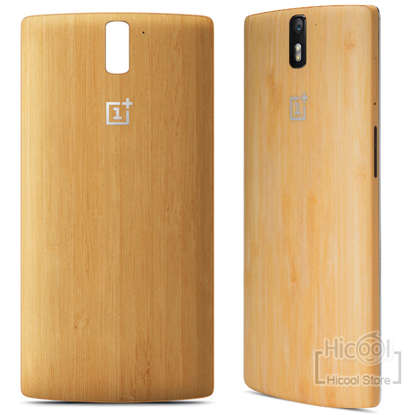 brand new bb9c5 ee04c US $80.0 |in stock Original onePlus one Bamboo StyleSwap Back Cover Replace  Bamboo cover for oneplus one Phone with NFC Side Button tool on ...