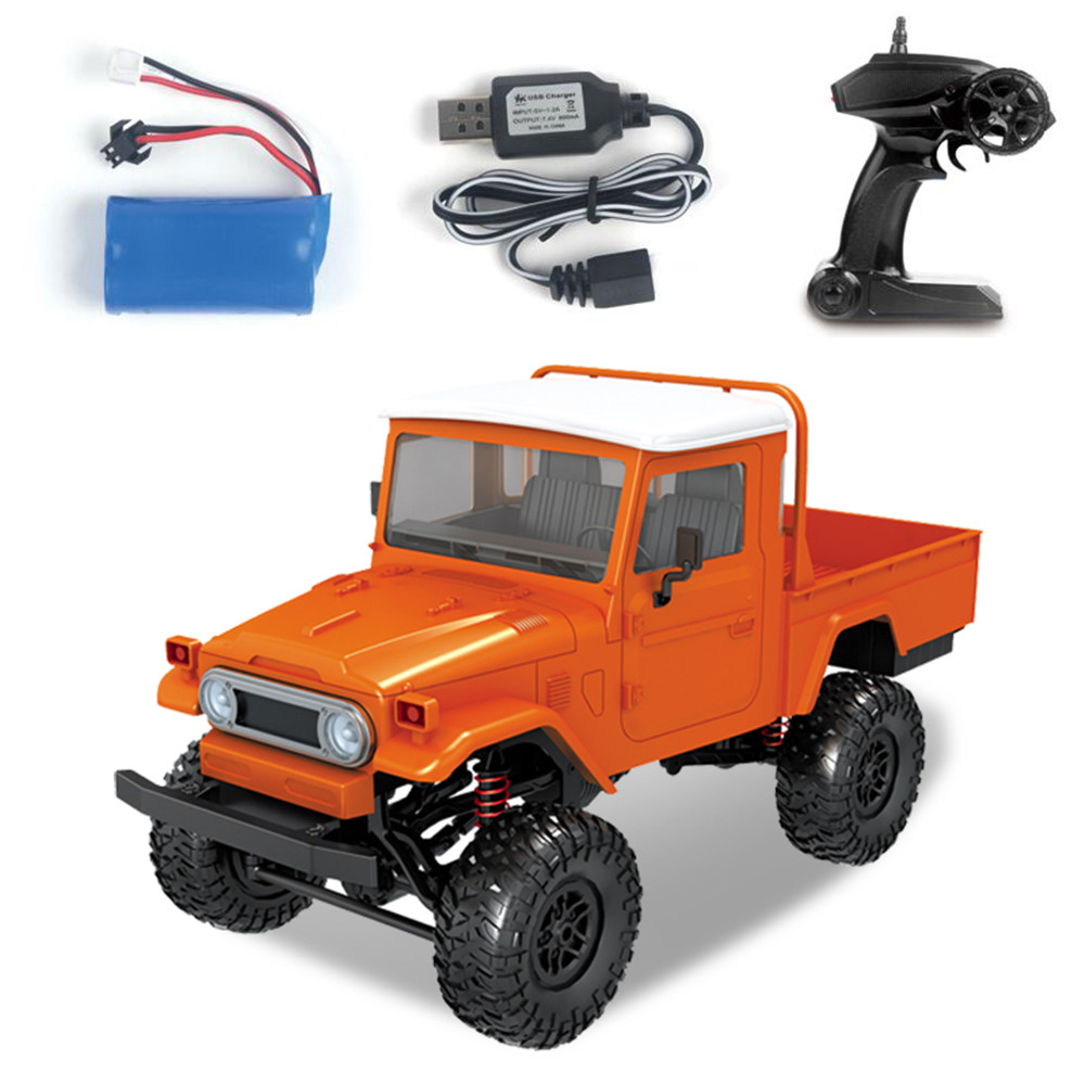 MN Model MN45 RTR 1/12 2.4G 4WD RC Car with LED Light Crawler Climbing Off road Truck RTR Kids Toys Gift-in RC Cars from Toys & Hobbies    1