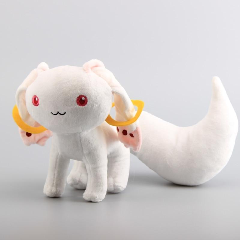 "New 9/"" Puella Magi Madoka Magica Kyubey Plush Toy Doll Gift"