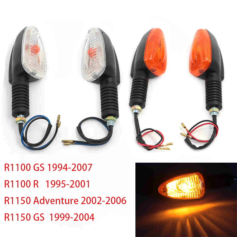 Front Rear Motorcycle Turn Signal Light Indicator For BMW R1100GS R1100R R1150GS R1150 Adventure ADV R 1100 1150 GS R Blinker