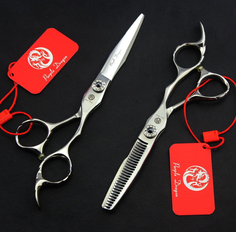 6  in. Professional Hair Scissors set ,Straight & Thinning scissors set,  Barber Shears Free Shipping