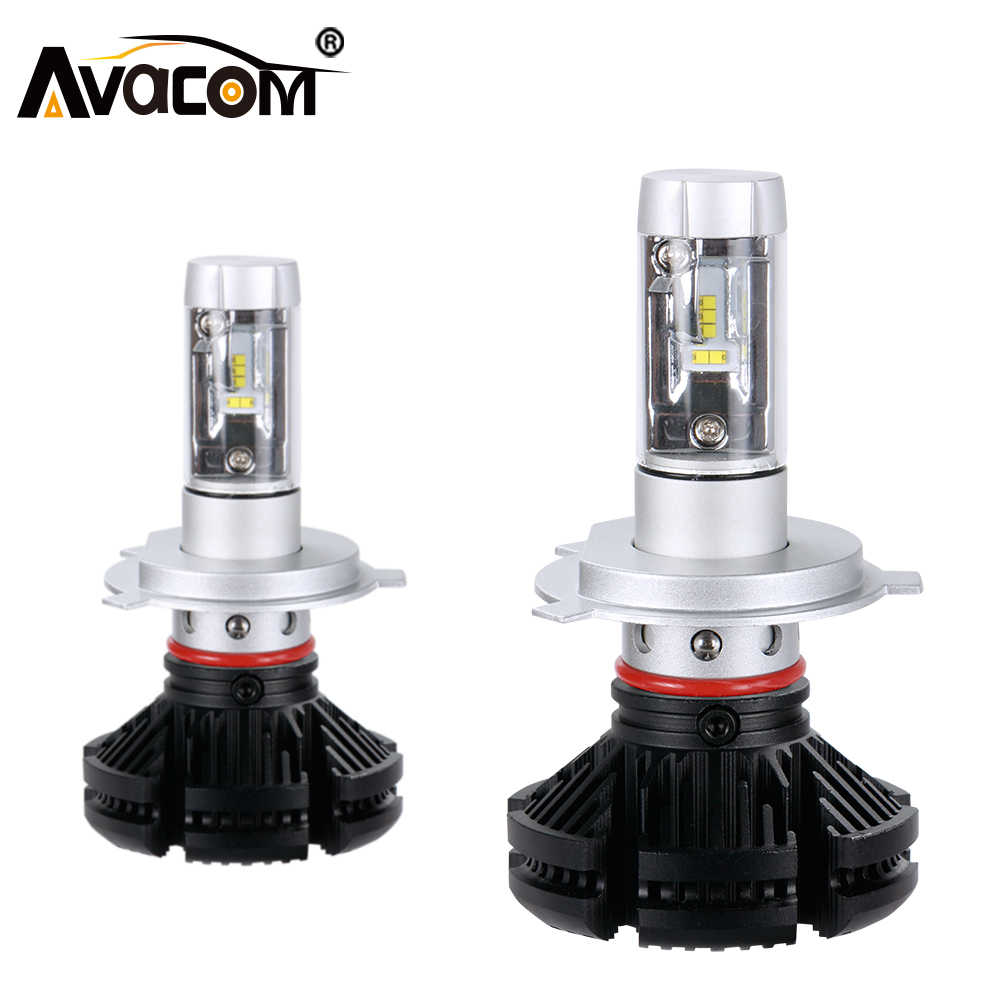 Avacom H7 LED 12000Lm 12V Car Headlight H1 H3 H11 LED Ice Auto Lamp H8 9005 HB3 9006 HB4 ZES 50W 6500K 24V H4 LED Car Bulb
