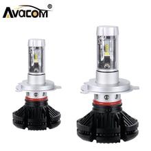 Avacom H7 LED 12000Lm 12 В фар автомобиля H1 H3 H11 привело CanBus лампы Авто H8 9005 HB3 9006 HB4 зэс 50 Вт 6500 К 24 В H4 Светодиодная лампа автомобиля