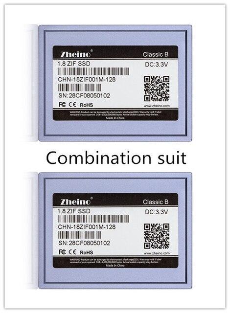"Zheino 1.8 ""ZIF/CE SSD 128 ГБ SSD Для MacBook Air 1st A1237 Dell D420 D430 HP Mini"