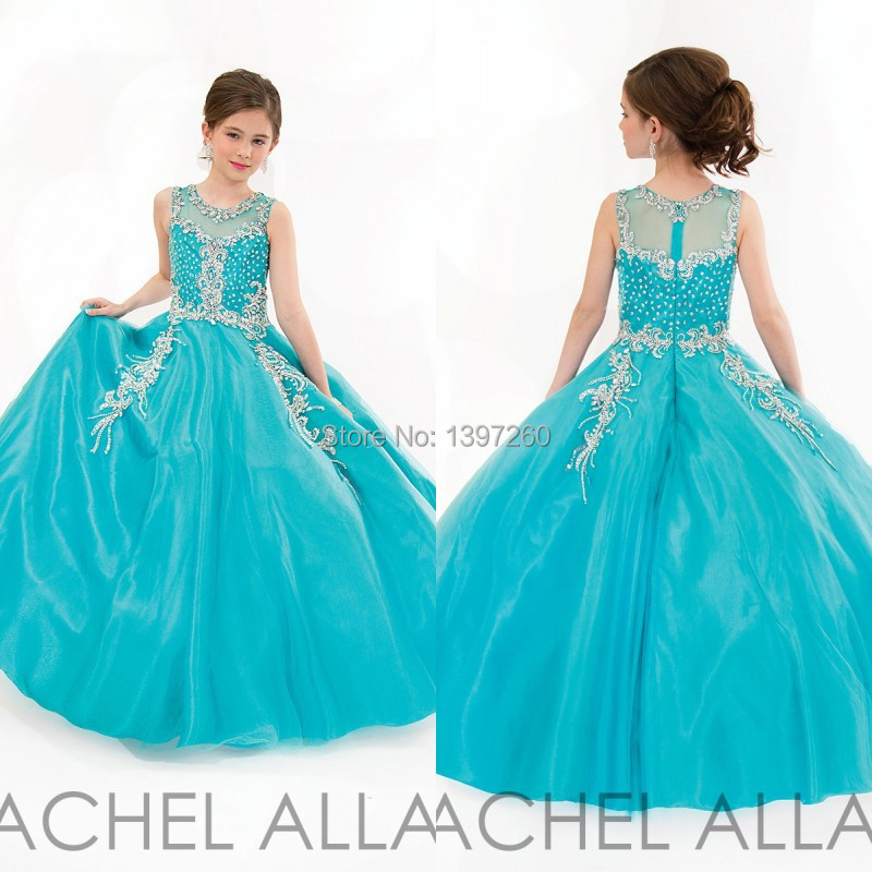 Online Buy Wholesale kids dresses for prom blue from China kids ...