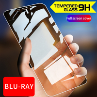 Lot 100pcs 3D Glossy Anti-Fingerprint Tempered glass For Xiaomi Redmi 4X Premium Full Cover Film Screen Protector