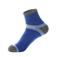 1 Pair New Fashion Winter Thermal Casual Soft Cotton Men Sock Outdoor Hiking Casual Socks