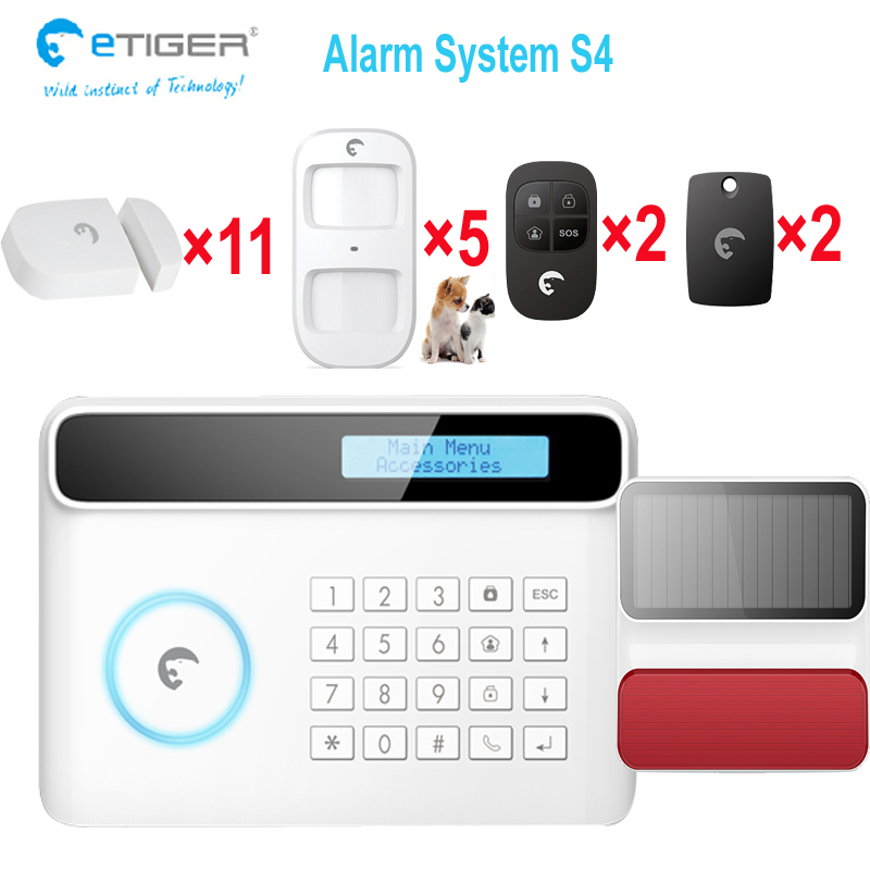 Energetic Three Rooms 2 Halls 5 Pir Motion Detectors 50 Wireless Zones Pstn&gsm Alarm Security System Attractive Fashion Alarm System Kits Back To Search Resultssecurity & Protection