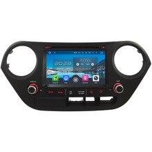 """7 """"4 ГБ Оперативная память 32 ГБ Встроенная память Octa core Android 6.0 dab WI-FI 3G/4 г BT автомобиля dvd-плеер Радио GPS для Hyundai I10 левой руки вождения 2014-2017"""