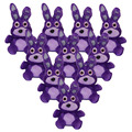 5 style Five Nights At Freddy Plush Game Toy FNAF Plush Baby Toys Bear Fox Duck Rabbit Children Birthday Gift 15cm