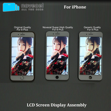 10Pcs Black/White AAA+++ For iPhone 7 8 Plus LCD With 3D Force Touch Screen Digitizer Assembly Display No Dead Pixel 10pcs dhl no dead pixel black white for iphone 7 full lcd screen display digitizer with touch screen complete assembly frame