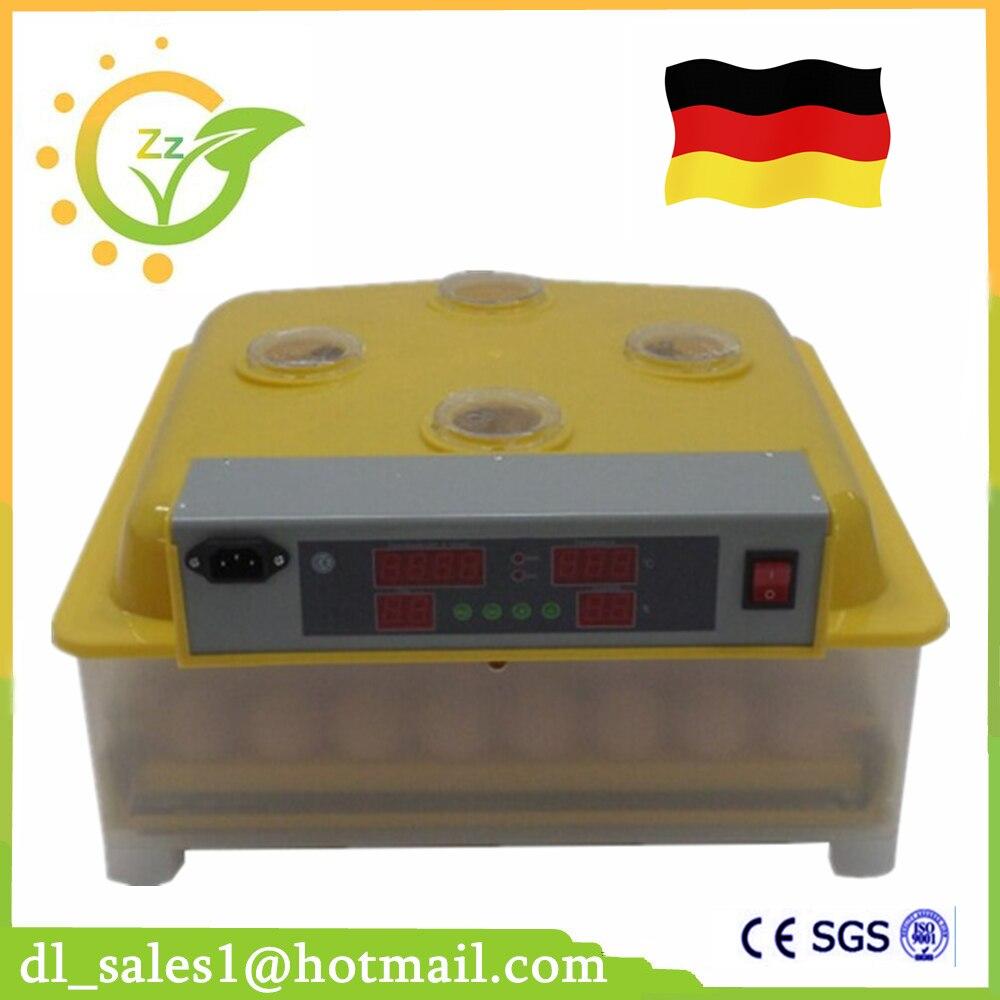 Mini 48 Uova Automatico di Rotazione Pollo Anatra Incubatoio di Quaglia Incubadora Pappagallo Uovo Incubatore di Pollame Da Cova Macchine