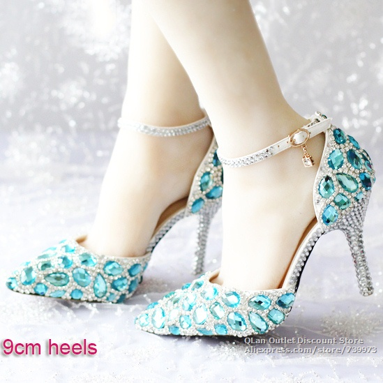 New Wedding Shoes Royal Blue For Women Outlet