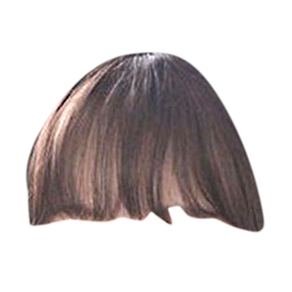 Haarverlängerung Und Perücken Bangs Yelo Malaysische Mode Menschliches Clip Haar Extensions Kurze Vordere Pony Fransen Remy Haar 6 Farbe Stil Ein Stück Freies Verschiffen