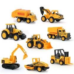 8 компл. мальчик игрушечные лошадки автомобили мини строительство автомобиля инженерные экскаватор для машинки самосвалы multi стиль Дети