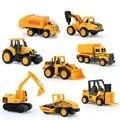8 компл. boy toys cars строительство мини-автомобиль инженерно автомобиль экскаватор самосвалы multi стиль дети toys для детей подарки