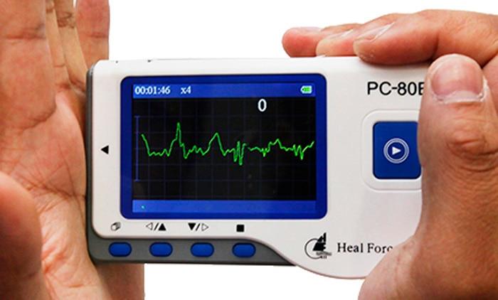 Household Health Monitors Heal Force PC-80B ECG Monitor Measuring Heart Cardiac Detector LCD Electrocardiogram Heart Monitor 6