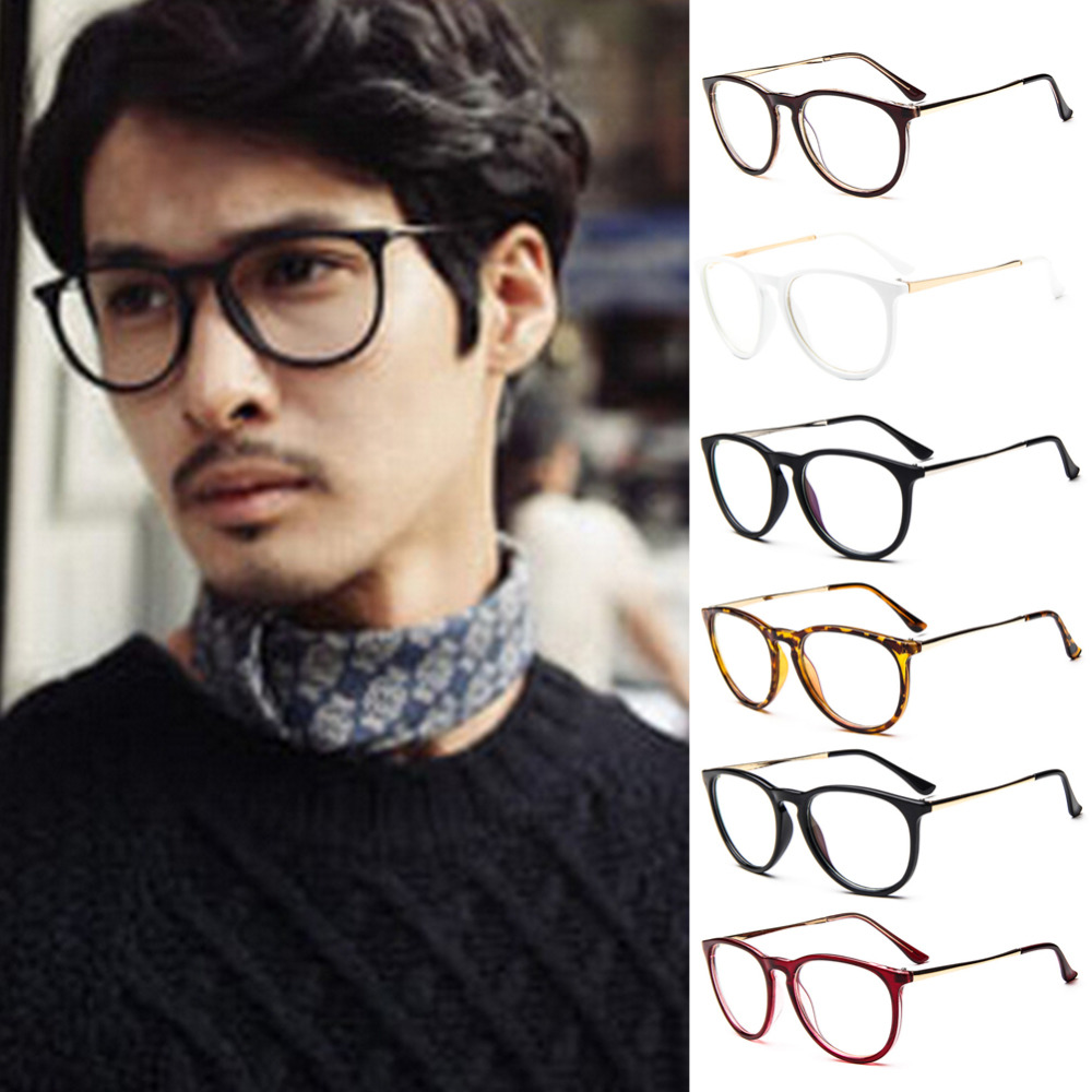 Glasses Frames Styles 2017 : Vintage 2017 Preppy Style Eyeglasses Unisex Men Women ...