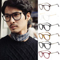 Vintage 2017 Preppy Style Eyeglasses Unisex Men Women Clear Lens Glasses Round Metal Frame Titanium Glasses Nerd Optical Eyewear