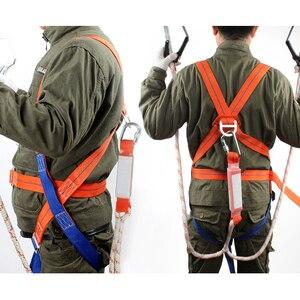 Image 4 - Ремень безопасности пятиточечный с двойным крючком, система безопасности, оборудование для защиты от падения, высокая производительность