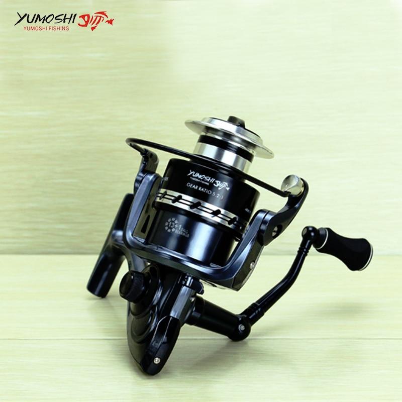 2000-7000 Spinning Reel Fishing 13 + 1 Ložiskové kuličky Levá / - Rybaření - Fotografie 2