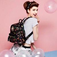 2017Women Mini Backpacks Korean School Backpacks Classical Teenagers Fashion Travel Rivet Back Pack Bag Bolsa Feminina
