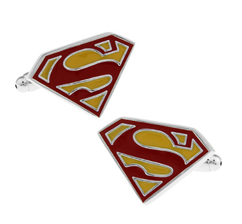 Classic Superheroes Cufflinks 28 Styles Option Quality Brass Material Smooth Plating Cuff Links Wholesale & Retail