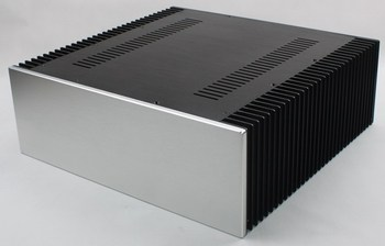 WA68 Aluminum enclosure Preamp chassis Power amplifier case/box size 412*430*150mm