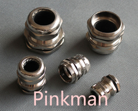 10pcs Germany PG Style PG7 Stainless Steel Cable Glands Apply To Cable 3 6 5mm