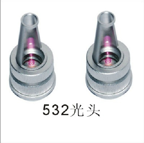 laser parts supplier 532nm nd yag laser head probe tip for sale