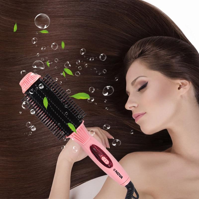 CHJ Hair Straightener Fast Heat Hair Straightening Comb Electrical Hair Brush Straighteners Straight Hair Straightening Iron