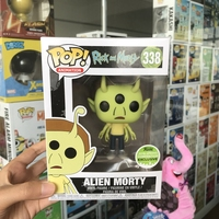 2018 Spring Con Exclusive FUNKO POP Official Rick & Morty Alien Morty Vinyl Action Figure Collectible Model Toy In Box