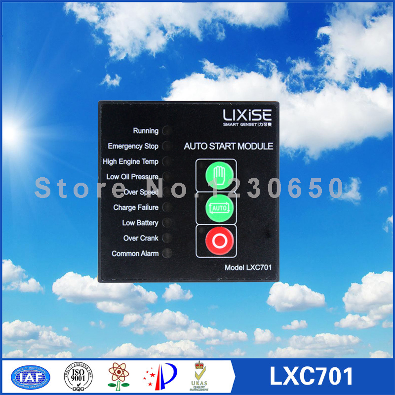 LXC701 Generator controller same size and same functions as DSE701 generator controller same